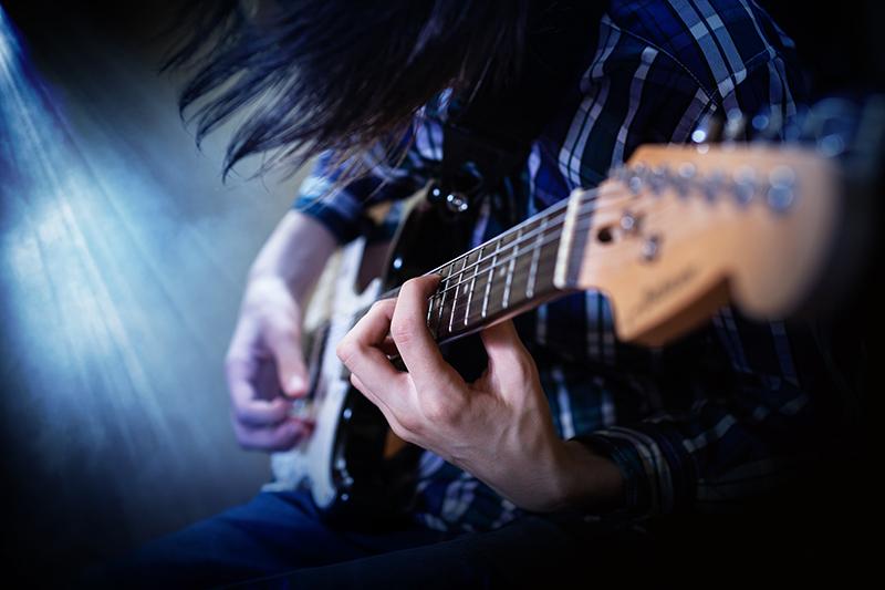 エレキギター練習