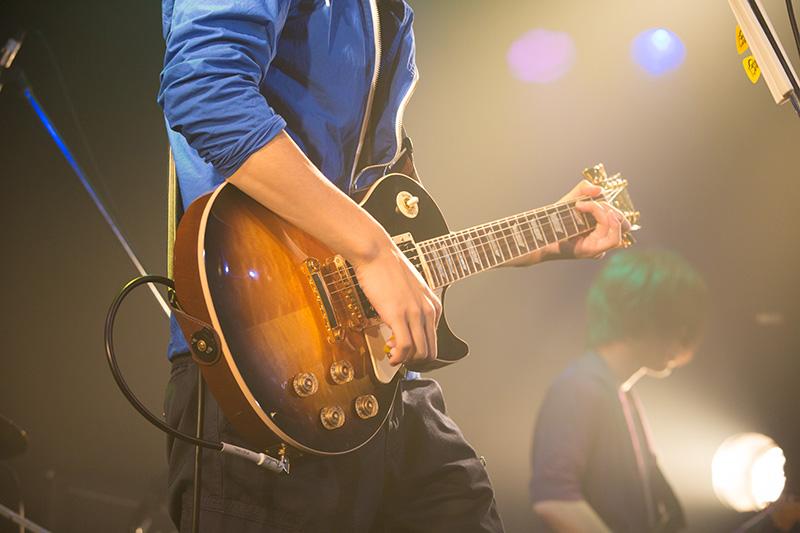 エレキギターステージ演奏