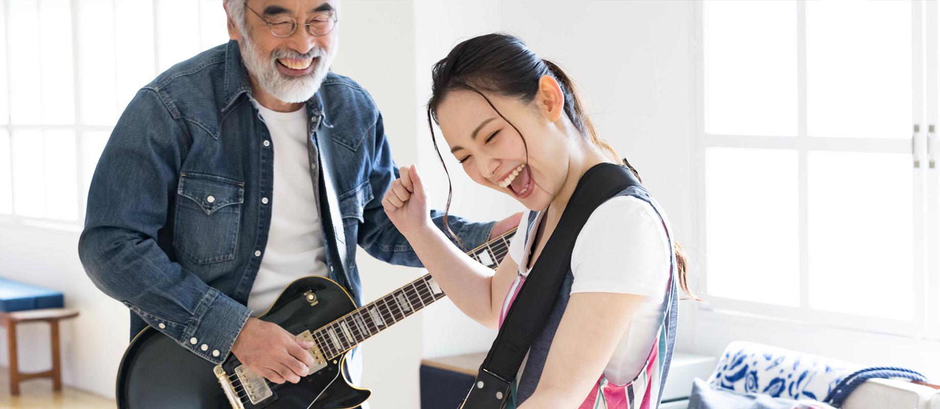 エレキギター科のレッスン画像