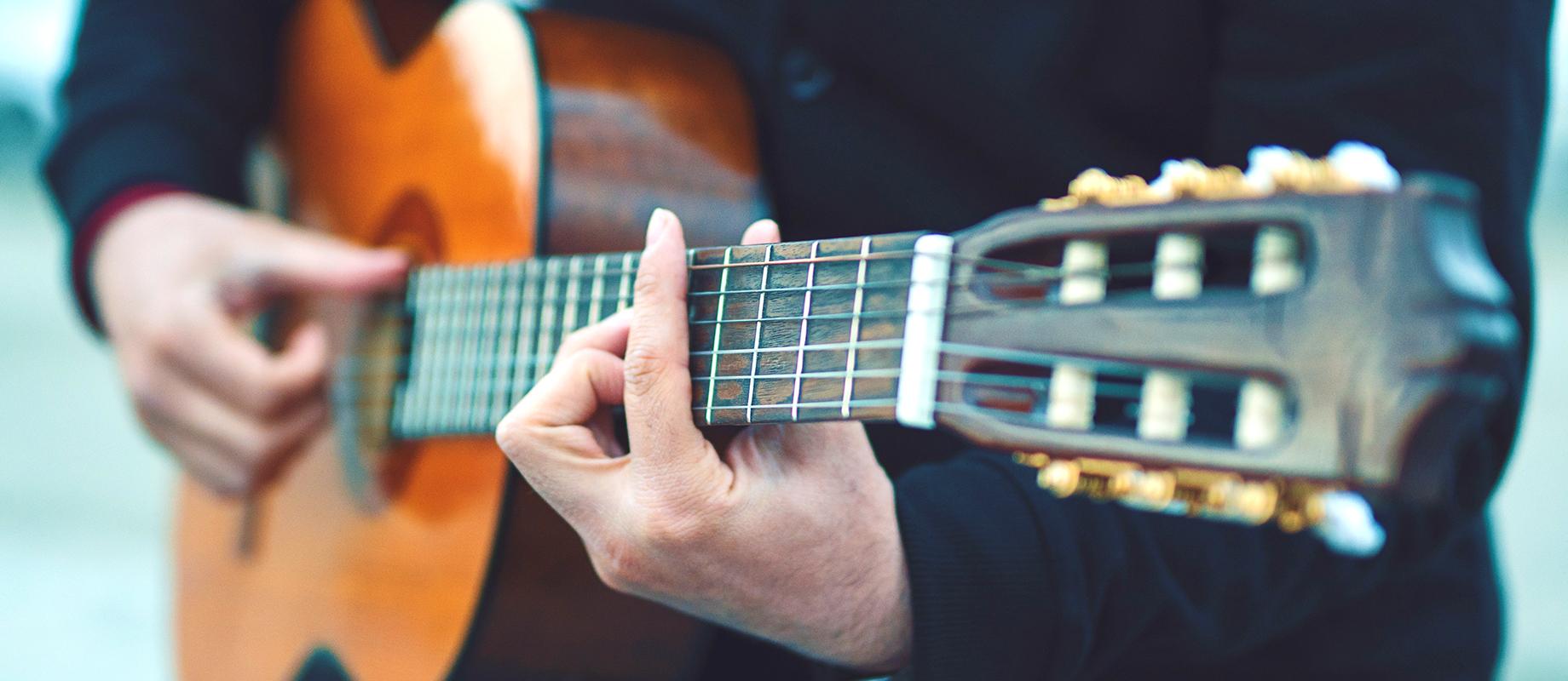 クラシックギター科のレッスン画像