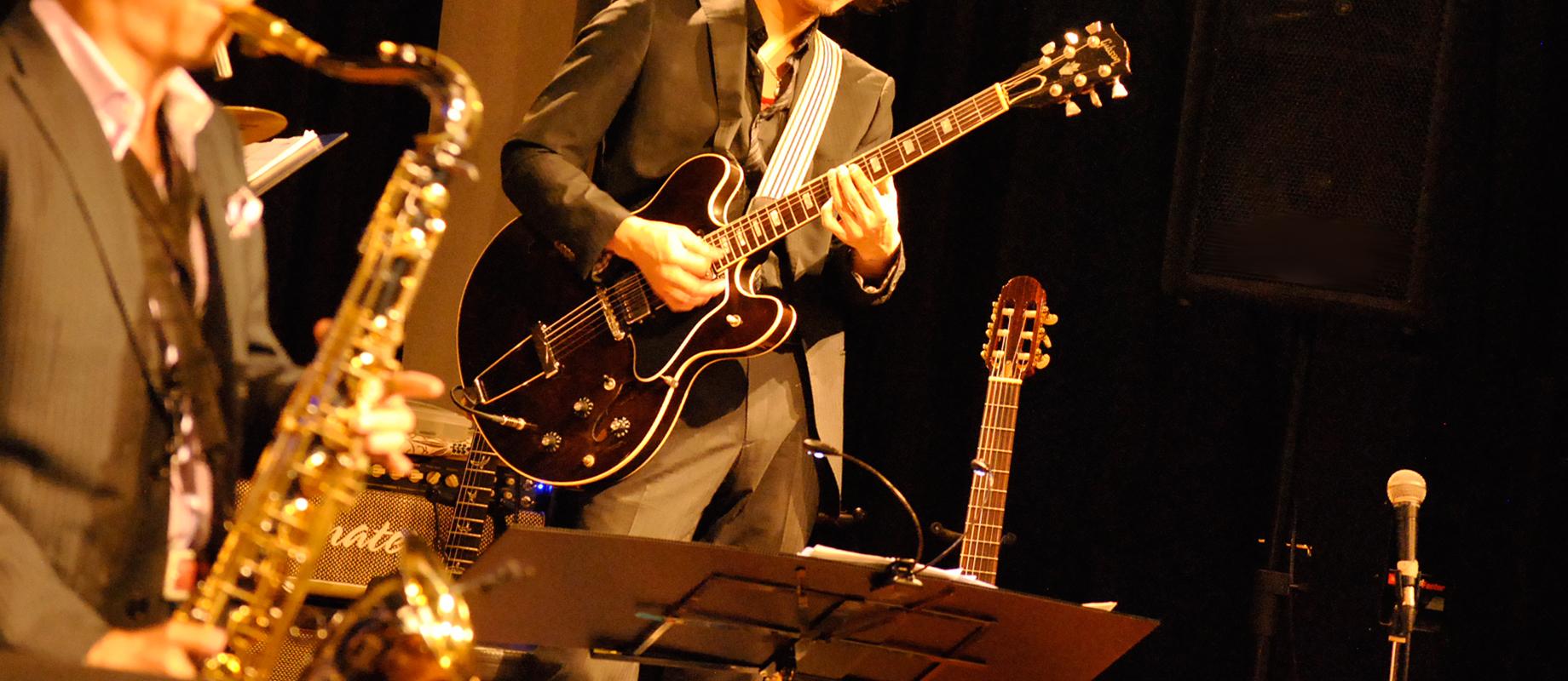 ジャズギター科のレッスン画像