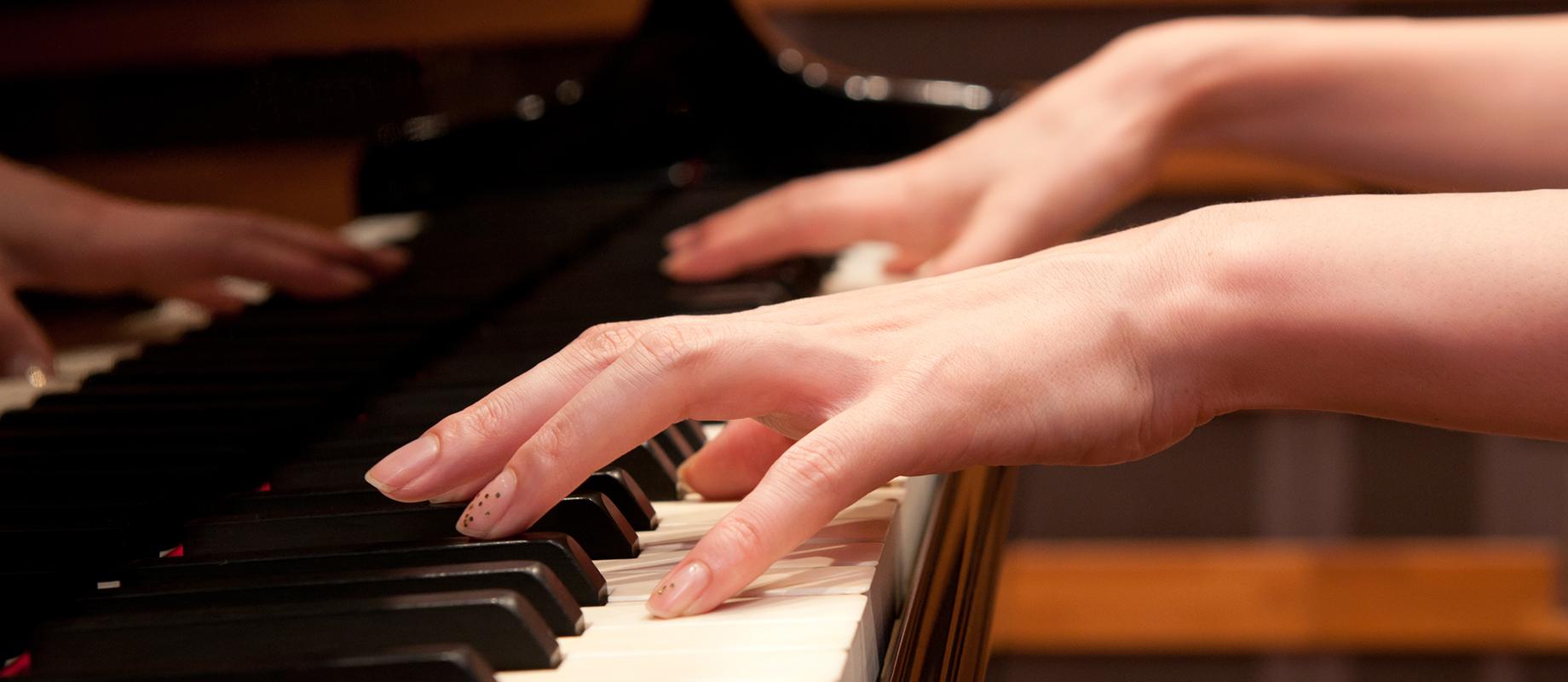 ピアノ科のレッスン画像